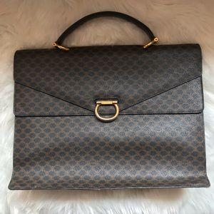 Authentic Vintage CELINE PARIS Briefcase Bag